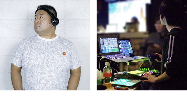 18if担当DJ:behemoth、18if担当VJ:キユ